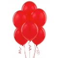 Red Matte Latex Balloons 6 Pack